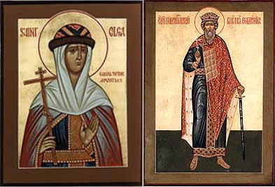 Olga and Vladimir